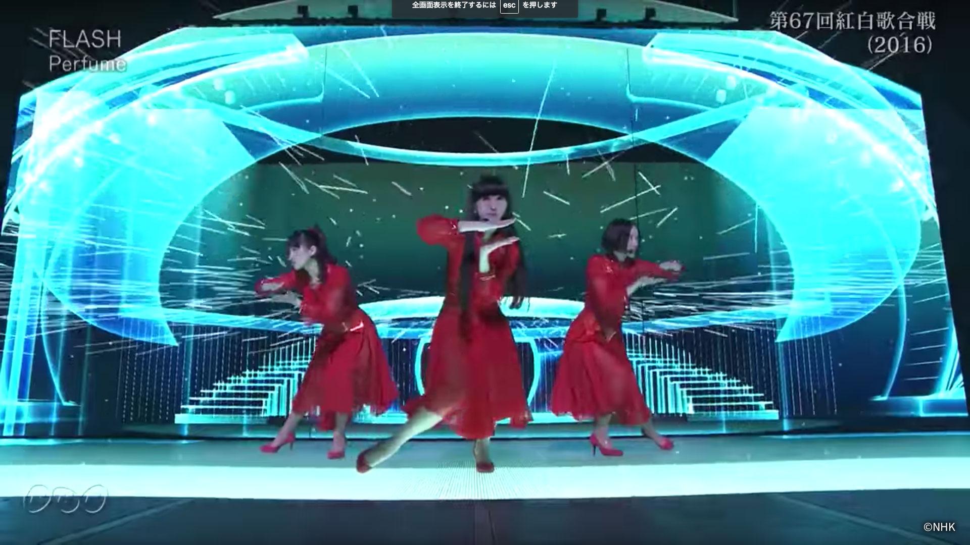 """第67回NHK紅白歌合戦 """"FLASH"""""""